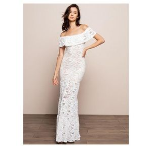 NWT Nightcap Plumeria Positano Maxi Dress Wedding
